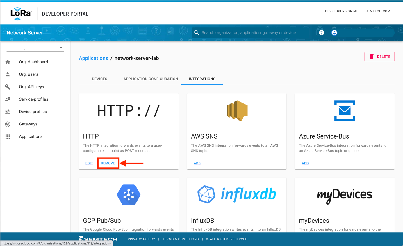 Removing the HTTP:// integration